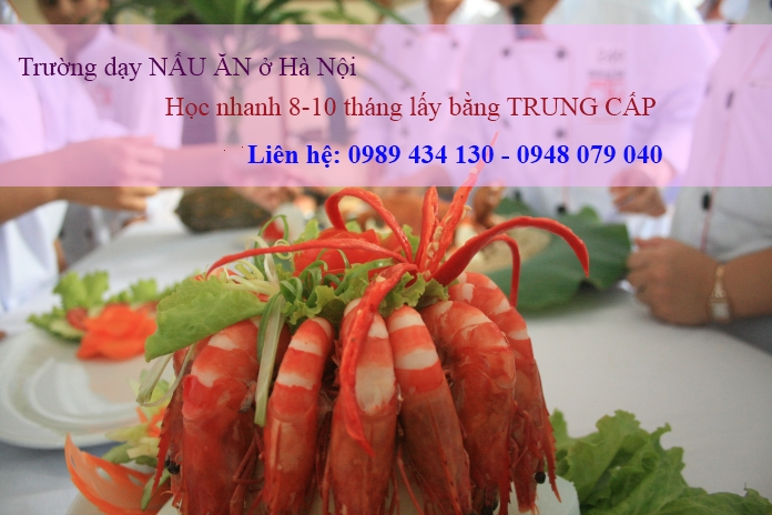 Truong day nau an o Ha noi