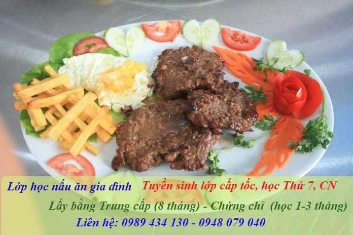 Mở lớp học nấu ăn tại Hà Nội