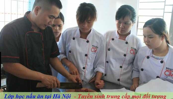 Lớp học nấu ăn tại Hà Nội