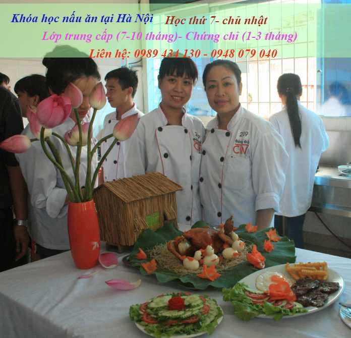 Khóa học nấu ăn tại Hà Nội