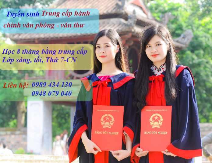 Hoc trung cap hanh chinh van phong van thu