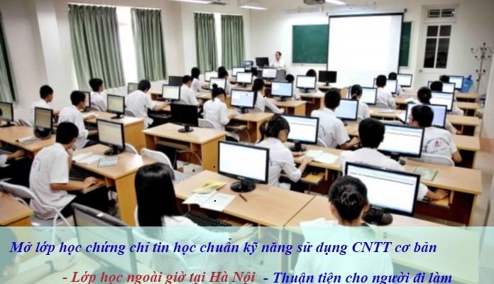 lop hoc chuan ky nang su dung cntt co ban