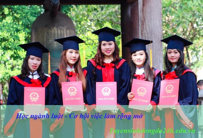 Học ngành luật tại Hà Nội