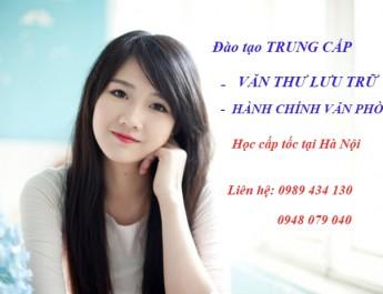 trung cấp văn thư lưu trữ ở Hà Nội