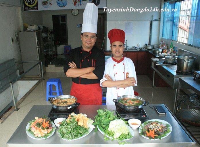 Khóa học nấu ăn mở quán nhậu tại trường