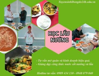 Học mở quán lẩu nướng và các món hải sản của học viên Nguyễn Văn Sỹ