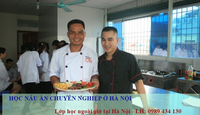 Hoc nau an chuyen nghiep