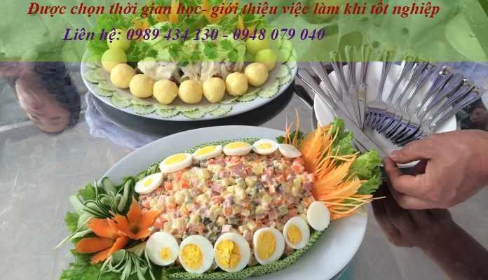 Khoa hoc nau an ngan han tai ha noi