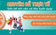 Học chuyên đề thực tế cho sinh viên Trường TC CN & QTĐông Đô