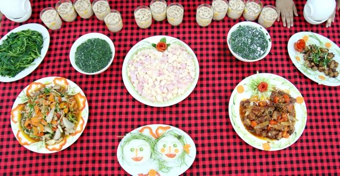 Sản phẩm của lớp học nấu ăn cho trẻ em dịp hè 2018