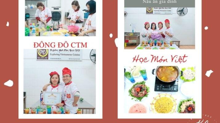 giá 1 khóa học nấu ăn gia đình