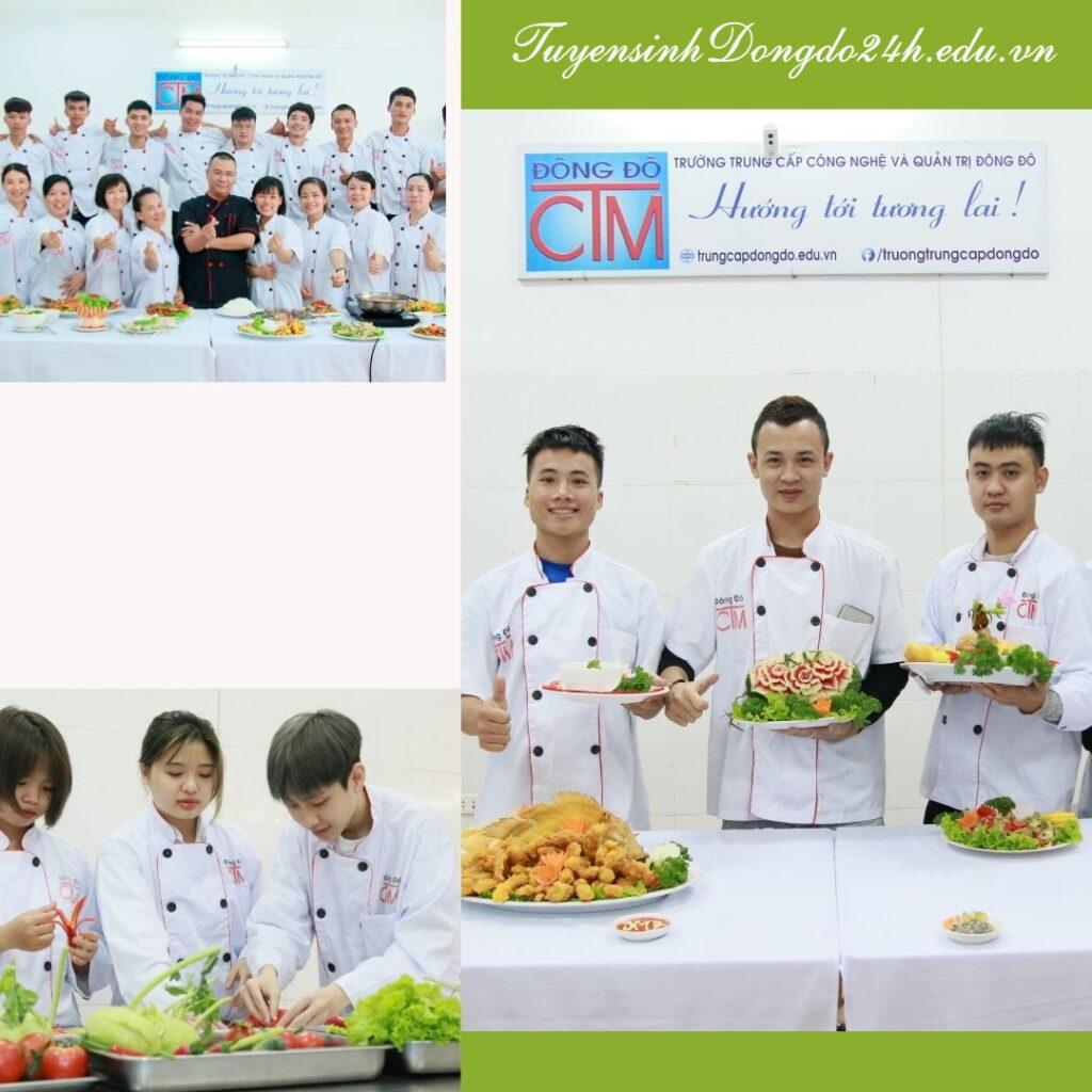 trường học nghề nấu ăn