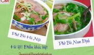 Hé lộ! Điểm khác cách nấu phở bò Hà Nội truyền thống và Nam Định
